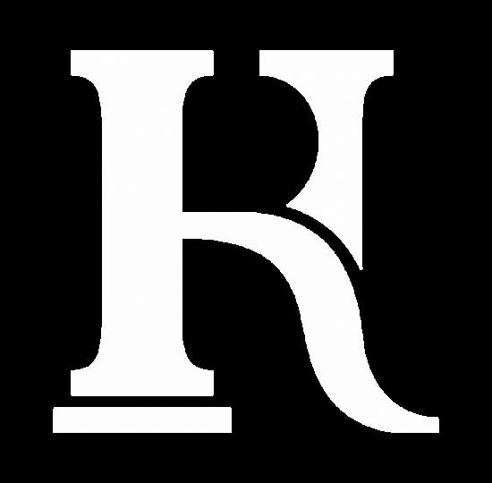 RH logo alb